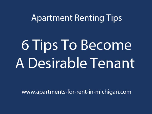 6 Tips To Become A Desirable Tenant